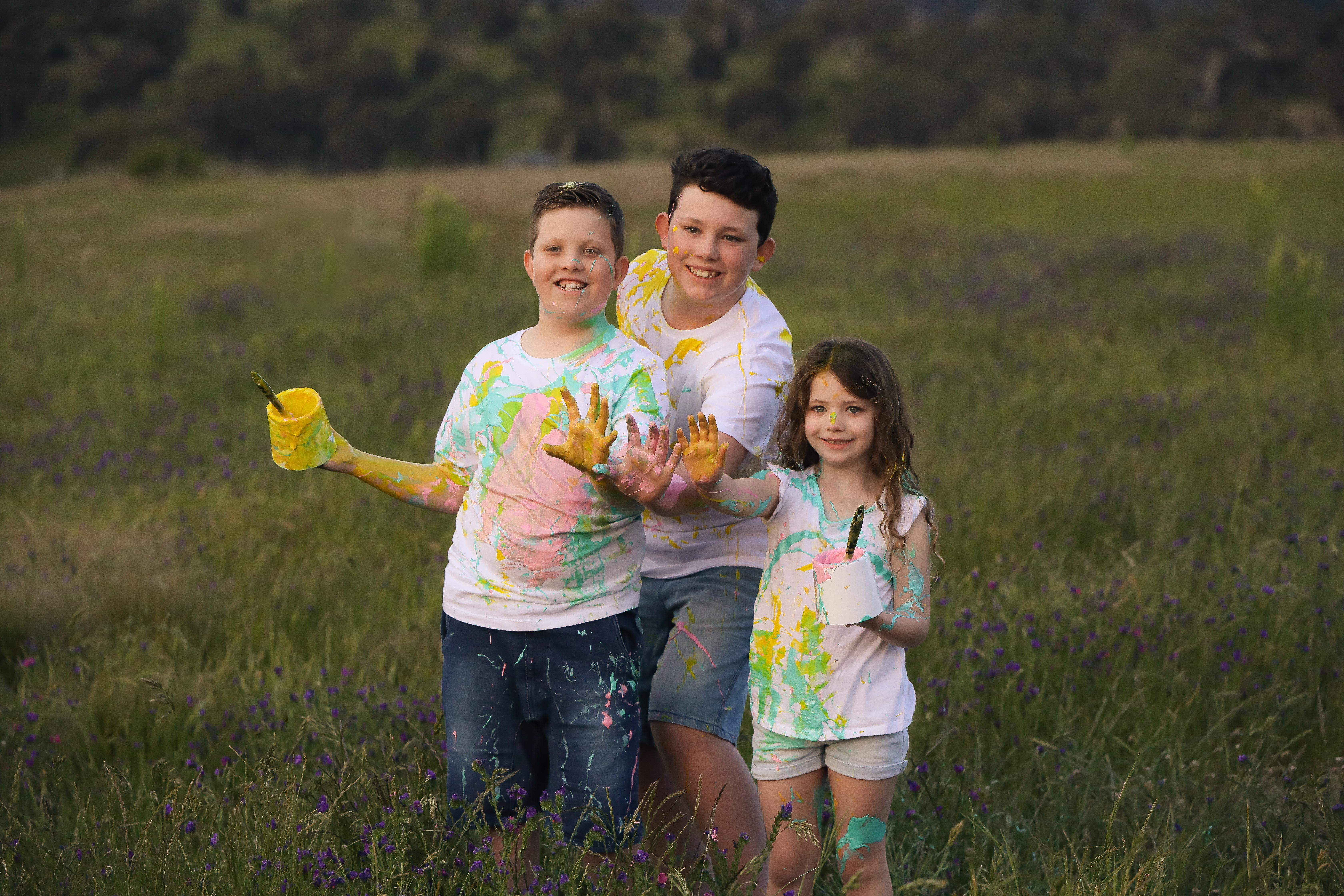 Together Family Portrait Ballan Photographer Bacchus Marsh Ballarat Fun Children