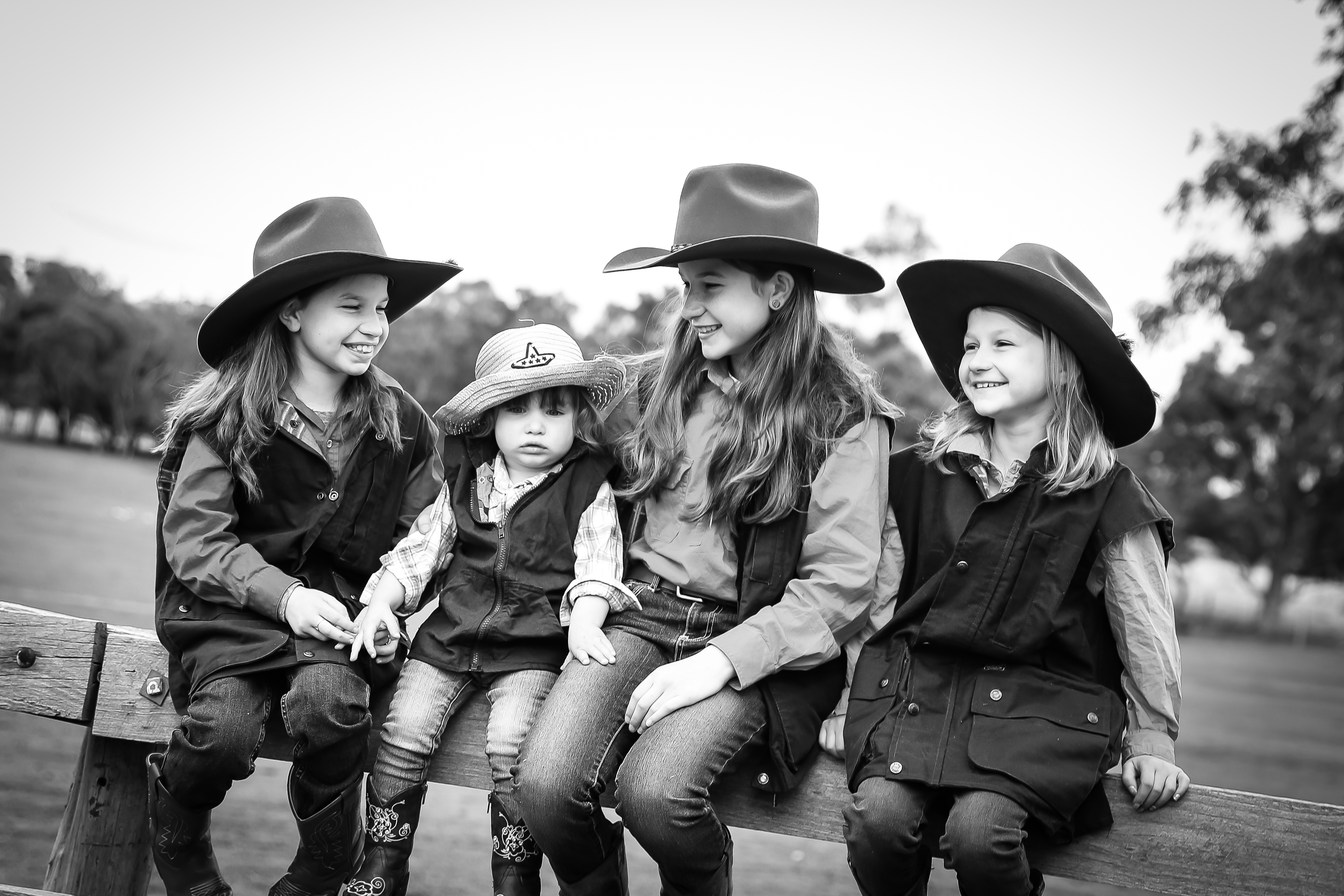 Cowgirls country girls sisters farm
